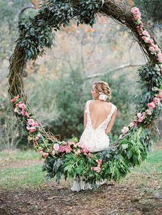 cerchio di fiori
