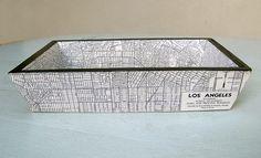 Los Angeles Map Tray