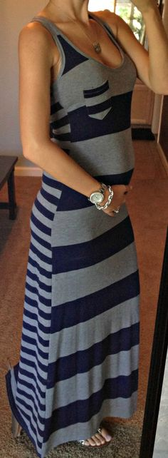 Finally!!   This blogger is finally pregnant!!   Love following her clothes!!