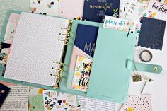 Get INSPIRED with Simple Stories Leather Planners - Scrapbook.com
