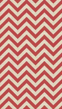 iPhone 5 wallpaper - #chevron #red #pattern