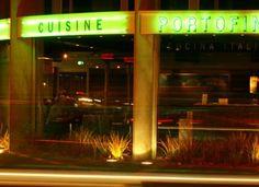 Portofino Mission Bay  #kiwihospo #PortofinoRestaurant #KiwiRestaurants Mission Bay, Kiwi, Aquarium, Restaurants, Neon Signs, Gallery, Goldfish Bowl, Roof Rack, Aquarium Fish Tank