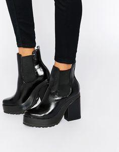 Image 1 ofEEight Yolanda Heeled Chelsea Boot