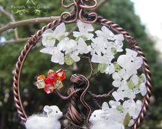 MADE TO ORDER: Brigid Irish Celtic Goddess Tree of Life