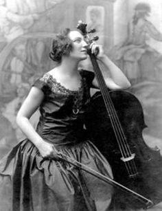 The talented Guilhermina Suggia, She was a well-known Portuguese musician, particularly because a female cello soloist was a rarity in the early 1900s, she played in concert halls all around the world; there is a magnificent painting of her hanging in the Tate Modern Museum in London.