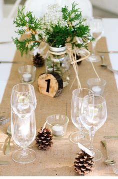Joel Bedford Photography; Rustic table decor; Rustic tent wedding;