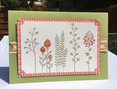 Lissa Carter Independent Stampin' Up! Demonstrator: INKspired Blog Hop #23 - Flowering Fields