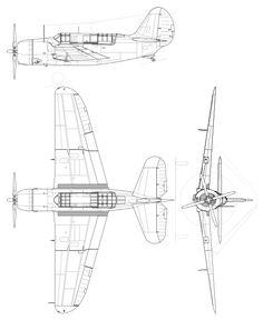 File:Curtiss SB2C Helldiver.svg