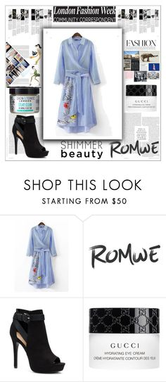 """""""London fashion"""" by maiah-bee ❤ liked on Polyvore featuring Apt. 9, Gucci and Skin & Tonic"""