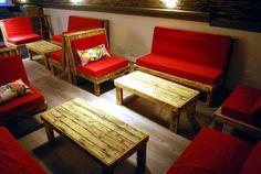 Pallet Restaurant (diy projects) | 99 Pallets