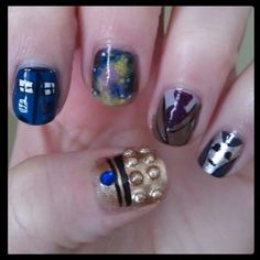 More cool DW nails