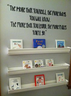 Step by step rain gutter bookshelf tutorial and other baby nursery ideas!!