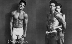 Na década de 80 Calvin Klein começou criar com sucesso boxershorts para homem e mulher. Modelos desta época eram Kate Moss e  Bruce Weber.