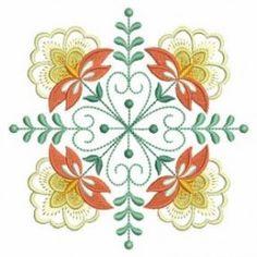 Jacobean Flower Quilt