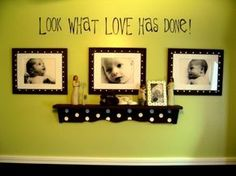 I don't care for the colors or polka dots, but love the over all idea.