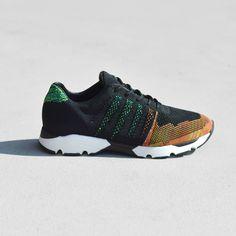 Mercer Amsterdam Wooster Knit Tech Runner Shoes | Multi