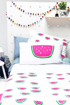 mini watermelon duvet cover...