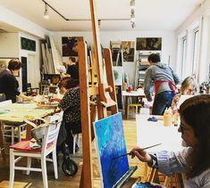 #Workshop im #Atelier in der Karlstraße 104 in #Darmstadt
