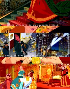 There was a time, not very long ago, when we lives in enchanted world. Disney Anastasia, Anastasia Movie, Anastasia Broadway, Disney And More, Disney Love, Disney Stuff, Disney Animation, Animation Film, Disney And Dreamworks