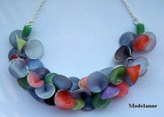 another variation on Lindly Haunani's lei necklace