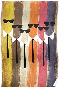 'Reservoir dogs' Poster by OkopipiDesign Tarantino Films, Quentin Tarantino, Reservoir Dogs Poster, Framed Prints, Canvas Prints, Art Prints, Best Movie Posters, Dog Poster, Image Fun