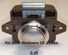 Caravan Lock for Cupboard push button cabinet latch for rv/motor home push latch lock for door thickness 18-21mm 5 PC