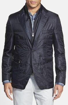 Men's Corneliani Trim Fit Quilted Sport Coat