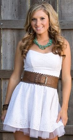 Short Country Style Wedding Cute Dress But Way To