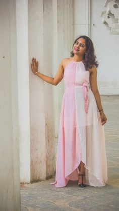 Sweet summer outfit to be the bridesmaid and parties  http://mytrendsandstyle.blogspot.in/2018/05/beige-girl-at-town-side-of-city.html?m=1