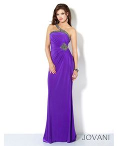 Jovani 3492 prom dress - Jovani prom 2013 - Jovani3492 - US$222.30 Beaded Embellished Prom Gown, Jovani Style 3492, One strap gathered floor length fitted gown with jewel embellishments. Add the Halle shoe by Alisha Hill. Cheap Jovani 3492 prom dress