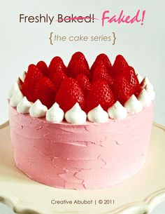 Tutorial How to Make Faux Cakes by CreativeAbubot on Etsy