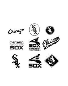 1590 best chicago white sox images chicago white sox sock socks Chicago Greatest chicago white sox svg dxf and eps cutting files silhouette vinyl cut files for