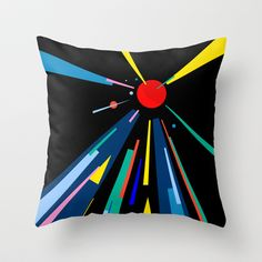 COMING HOME Throw Pillow by THE USUAL DESIGNERS - $20.00