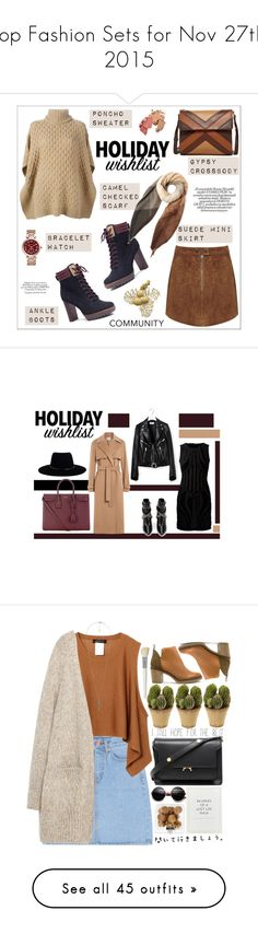 """Top Fashion Sets for Nov 27th, 2015"" by polyvore ❤ liked on Polyvore featuring MICHAEL Michael Kors, Miss Selfridge, Isabella Fiore, Michael Kors, Paul Smith, contestentry, polyvoreeditorial, 2015wishlist, Zimmermann and Jason Wu"