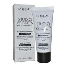 L'Oreal Studio Secrets Professional Make Up Primer, Make Up Primer, My Beauty, Loreal, The Secret, Shampoo, Foundation, Personal Care, Cosmetics, Studio