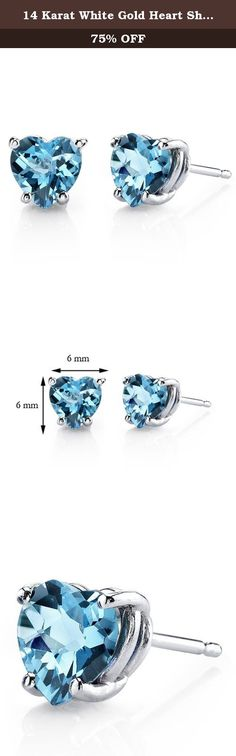 8MM Solitaire Stud Earrings 14K Black Gold Over .925 Sterling Silver Gold /& Diamonds Jewellery 3.90 CT Princess Cut Swiss Blue Topaz
