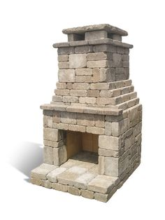 Fremont Outdoor Fireplace Kit