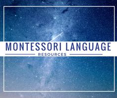 Check out the Ultimate List of Montessori Language Resources and…