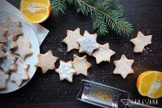 """For holidays """"don't eat this, it's Christmas Eve"""" you can prepare delicious butter-orange cookies. They are so addictive that they will satisfy the needs of all stealthy eaters."""