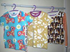 5v. tyttärelle T-paitoja jf pusero