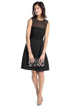 Robe Images Dress 15 Black Tableau Crepe Meilleures Lil Du F1nZIvq