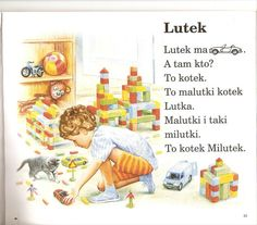 Polish Language, Kids Reading, Asd, My Childhood, Activities For Kids, Homeschool, Family Guy, Education, Children