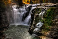 """Letchworth State Park HDR"" by Ericlrish // Imagekind.com – Buy stunning, museum-quality fine art prints, framed prints, and canvas prints directly from independent working artists and photographers."