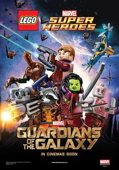 Guardians of the Galaxy LEGO Poster