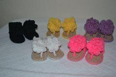 Baby girl sandals by BellasBabyTreasures on Etsy, $25.00