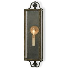 WOLVERTON WALL SCONCE BY CURREY AND COMPANY