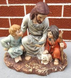 Home Interiors Homco The Fisherman Figurine Jesus And Children Masterpiece Animated Video Maker, Home Interiors And Gifts, Swirl Pattern, Votive Candle Holders, Minimalist Decor, Home Improvement Projects, Big Cats, Thrifting, Kitchen Decor