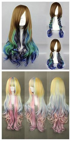 Lolita cosplay wigs, we have lots of cosplay wigs in stock now and in great prices. Check it out!