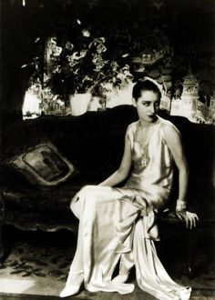 Marion Morehouse photographed by Cecil Beaton, 1929