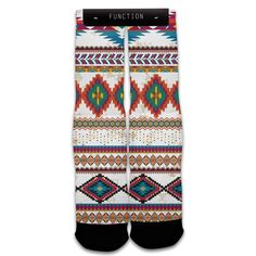 Function - Tribal Pattern Sublimated Socks
